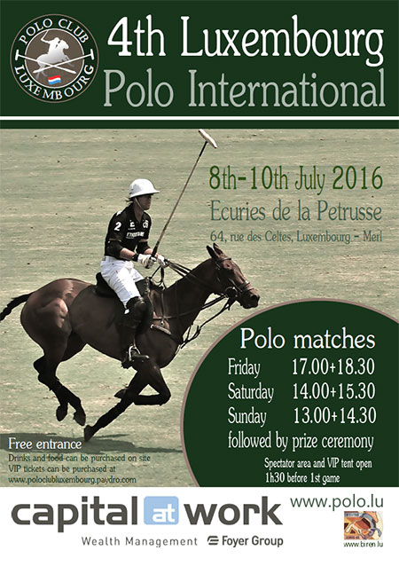 Tournoi international polo 2016